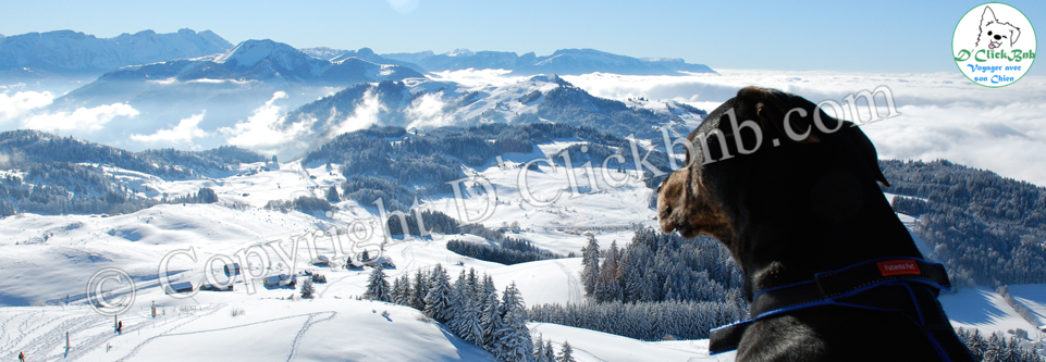 Pointe de Miribel en Haute-Savoie