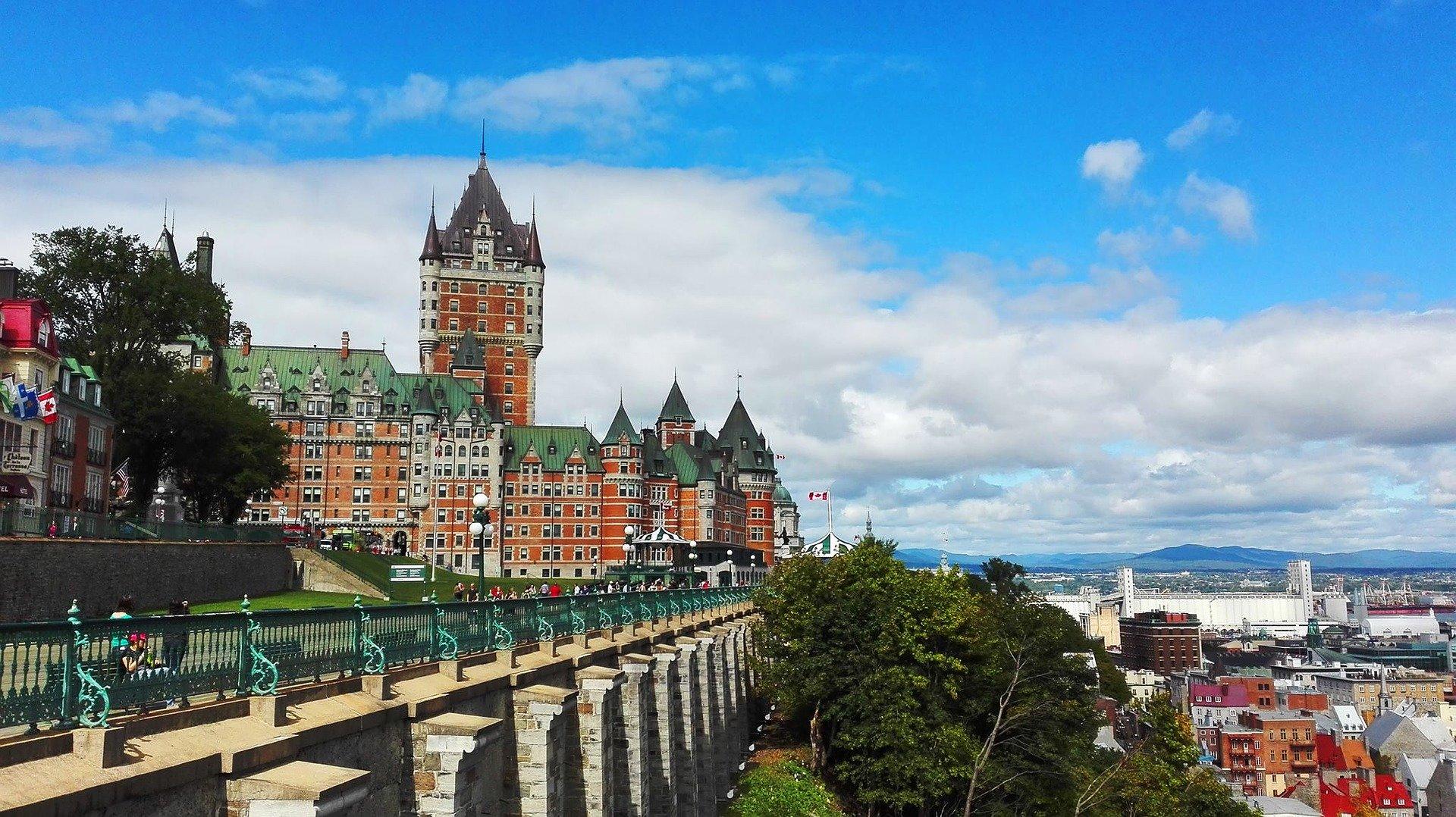 Visiter le Québec avec un chien