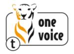 Label One Voice Tigre
