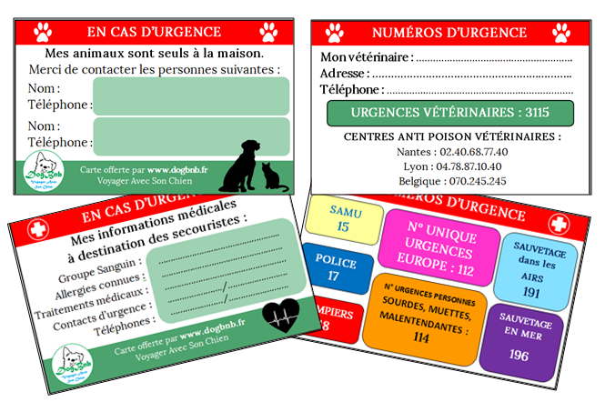 Carte d'Urgence