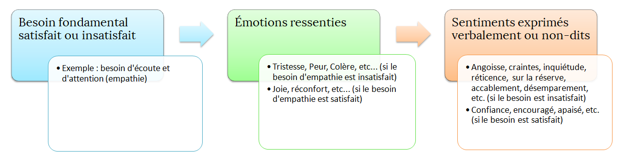 Besoins fondamentaux, émotions et sentiments