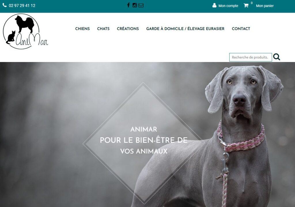 Artisan créateur accessoires pour chiens Animar