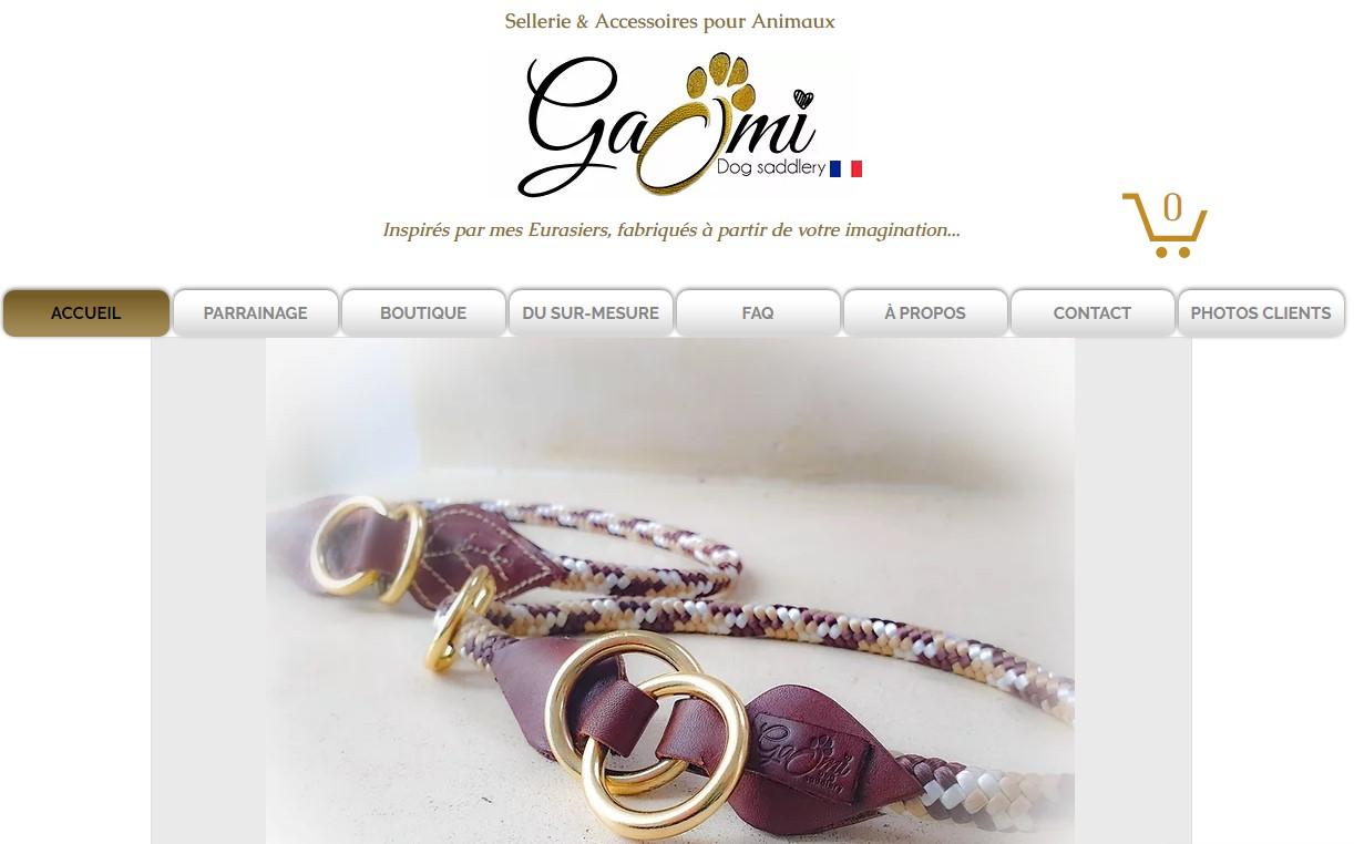 Artisan créateur accessoires pour chiens Gaomi