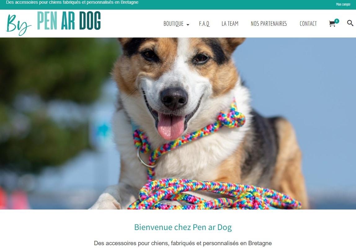 Artisan créateur accessoires pour chiens Pen Ar Dog