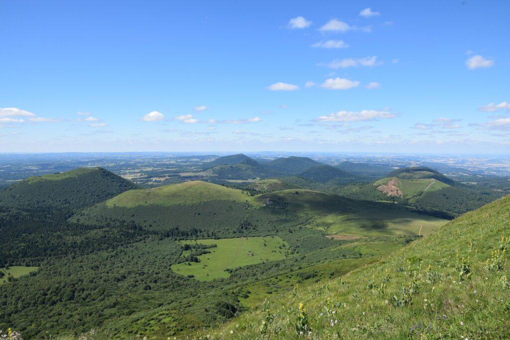 L'Écosse depuis le Puy-de-Dôme