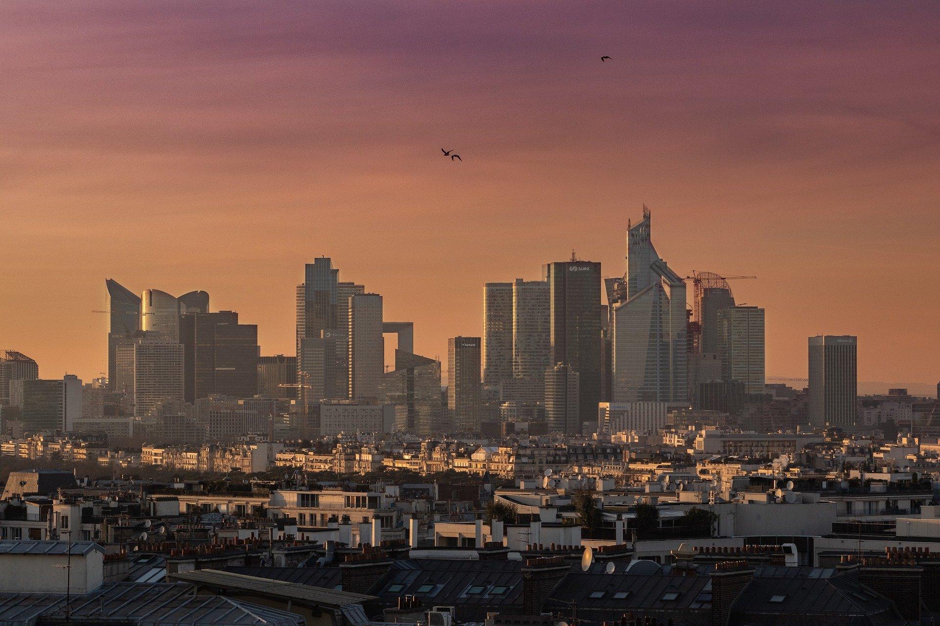 New-York depuis Paris à la Défense