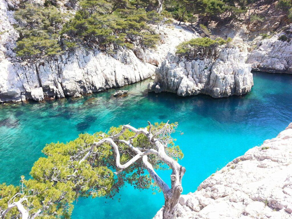 Forte ressemblance entre la Grèce et les calanques de Cassis